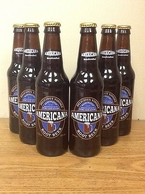 Americana Root Beer - 12 Pack - Glass Bottle Old Fashioned Soda Pop