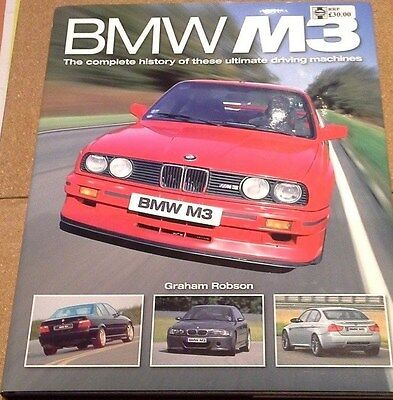 Bmw M3: The Complete History Of These Ultimate Driving Machines Rrp £30