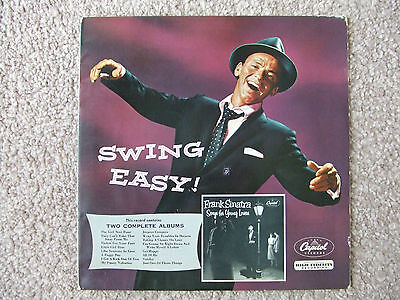 Frank Sinatra Vinyl Lp - Swing Easy Plus Songs For Young Lovers 2 Albums1Record
