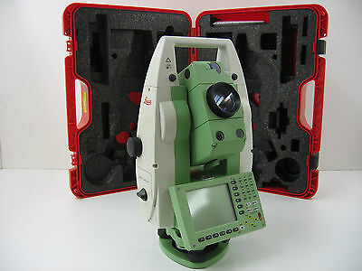 """Leica Tcrp1205 5"""" Robotic Total Station W Radio Handle For Surveying Certified"""