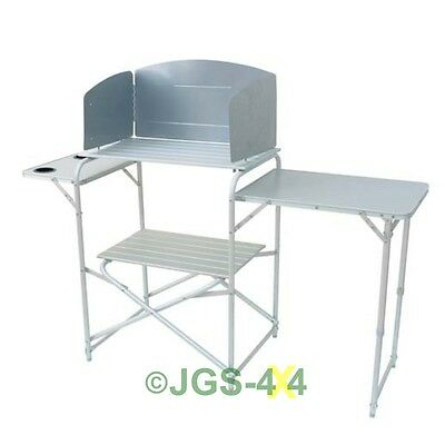 Royal 359976 Aluminium Kitchen Stand with Wind Shield - 359976