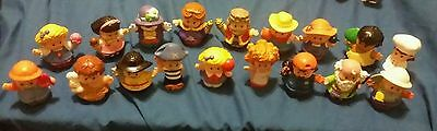 Fisher Price Little People Humans 18 Pieces