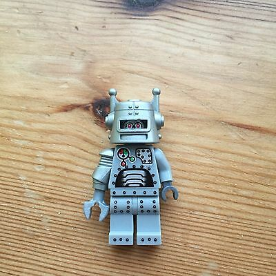 Lego Minifigures Series 1 Robot (without baseplate)