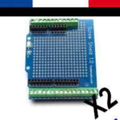 lot de 2 SCREW SHIELD 1.0 NEUF pour carte arduino UNO