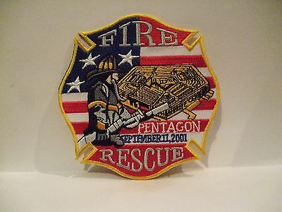 fire patch  FIRE RESCUE DISTRICT OF COLUMBIA  DC  PENTAGON SEPT 11, 2001