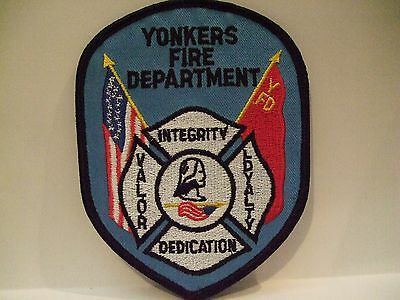 fire patch  YONKERS   FIRE DEPT NEW YORK