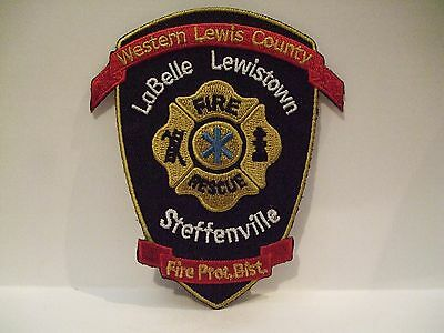 fire patch  WESTERN LEWIS COUNTY   FIRE DEPT MISSOURI