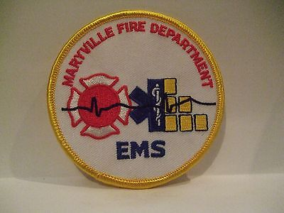 fire patch  MARYVILLE FIRE DEPT EMS ILLINOIS