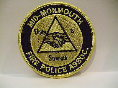 fire patch  MID MONMOUTH FIRE POLICE ASSOC   NEW JERSEY