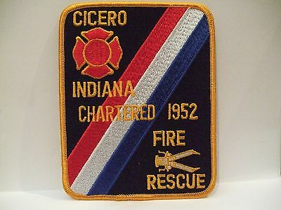 fire patch   CICERO FIRE RESCUE  INDIANA