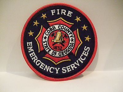 fire patch  COBB COUNTY FIRE EMERGENCY SERVICES GEORGIA