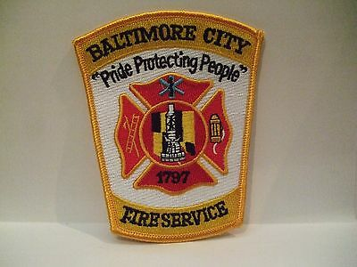 fire patch  BALTIMORE CITY FIRE SERVICE MARYLAND