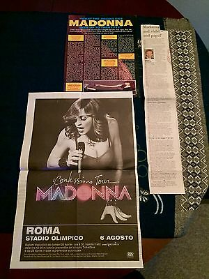 Madonna Various Magazine And Newspaper Articles Cuttings Pack HH