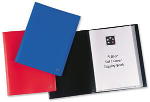 Display Book 40 Pocket A4 Red
