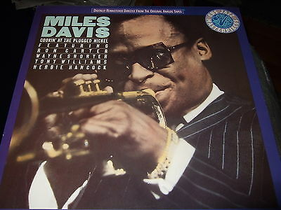 Miles Davis : Cookin At The Plugged Nickel Audiophile Lp 1987 Cbs Nl