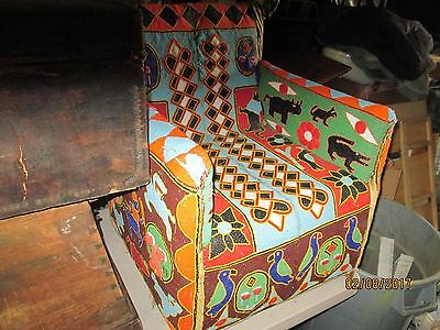 African Beaded Chair