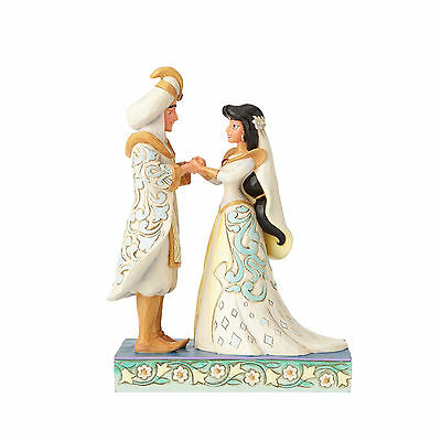 Jim Shore Disney Traditions Aladdin & Jasmine A Wish Come True 4056750 NEW NIB