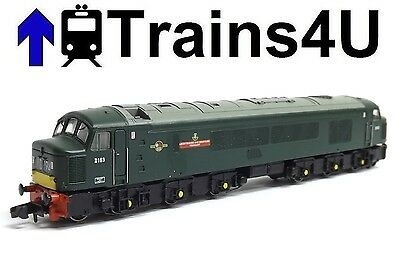 Graham Farish 371-585 BR Class 46 'Leic Derbys Yeomanry' D163 (N) Boxed 23998