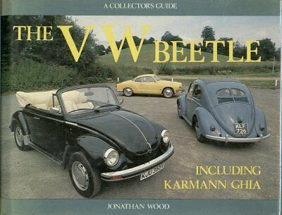 Vw Beetle Incl Oval & Cabriolet & Karmann Ghia Design & Production History Book