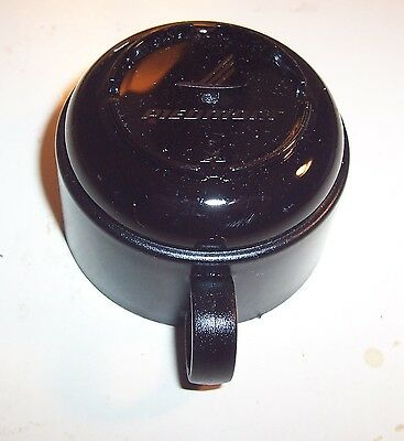 """PIEDMONT AIR LINES-On Board Disposable Plastic Coffee Cup - 3"""" diameter, 2"""" tall"""