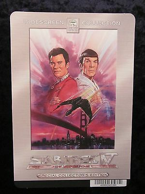 STAR TREK IV THE VOYAGE HOME movie backer card (this is NOT a movie)