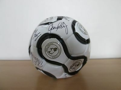 Derby County 2009 signed Football from Derby v QPR match