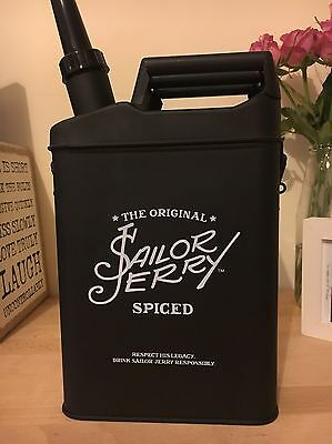 Sailor Jerry Jerry Can Drinks Pitcher  Brand New Sailor Lady