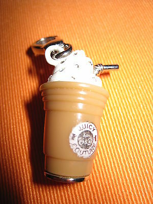 Juicy Couture Coffee Cup Charm Anhänger Geschenk box Ostern