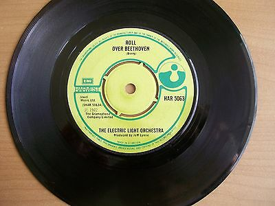 """Electric Light Orchestra """"Roll over Beethoven"""" 7 inch vinyl single"""