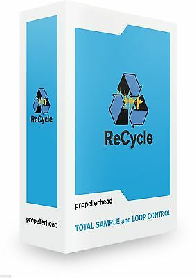 Propellerhead Recycle 2.2 Loop Editing Mac PC REX Editor Software