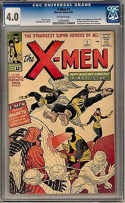 X-Men #1 CGC 4.0 (OW) Origin & 1st Appearance of the X-Men & Magneto