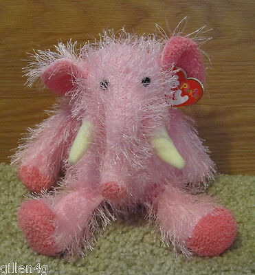 Ty Inc. 2002 Punkies Elephant Plush Pipsqueak *mint