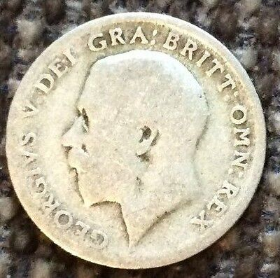 George V Silver Sixpence
