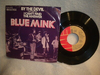 """7"""" Blue Mink -- By The Devil ( I Was Tempted ) / I Can´t Find The Answer"""