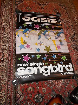 oasis rare poster