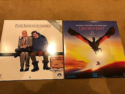 Planes Trains And Automobiles and Dragonheart NTSC Laserdisc