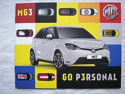 MG3 Range UK Brochure 2013 3Style 3Form 3Form Sport 3Time