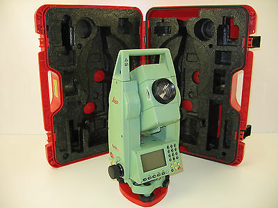 """Leica Tcr703 Auto 3"""" Total Station Only, For Surveying, One Month Warranty"""