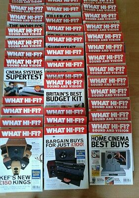 What hifi magazines!  40mags! Jan 1999 to 2006. Collectables. Order Single Copy