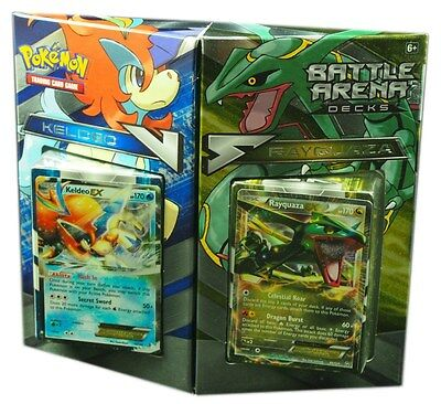 Pokemon TCG, Battle Arena Deck, Keldeo vs Rayquaza, New and Sealed