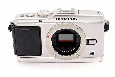 Olympus PEN E-P3 12.3MP Digital Camera - Silver (Body Only)