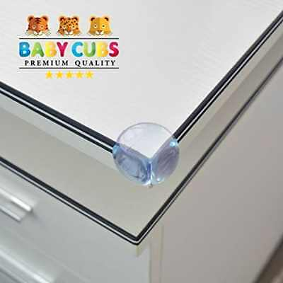 Baby Proofing Corner Protectors Clear Furniture Bumpers 8 Pack PREMIUM Quality