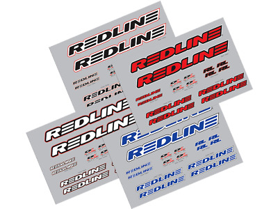 NEW Redline Frame Decal Sticker Set