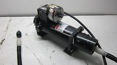 Dayton DC Motor 4Z528 with Speed Control and Drill Attachment Working Black