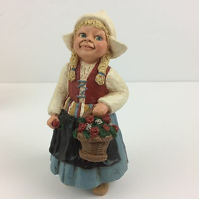 All God's Children by Ms Martha Holcombe - KATRINA - Dutch girl in wooden shoes