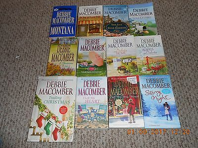 Lot of 12 Paperback Books By Debbie Macomber