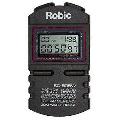 Robic Racing Stop Watch Clock Water Resistant Circle Track Racing USMTS IMCA UMP