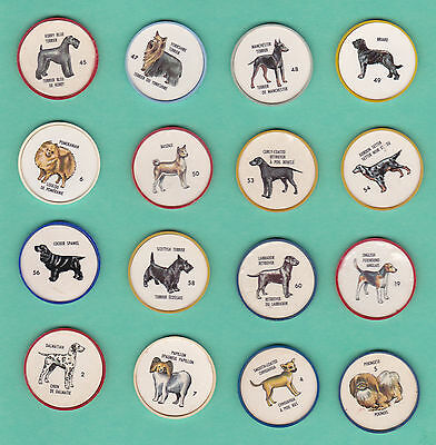 1960s HUMPTY DUMPTY DOG COINS, LOT OF 40 DIFFERENT (EXCELLENT)