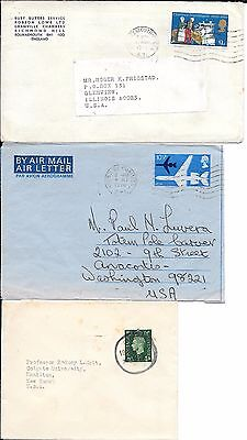lot 71 Britain covers: 1971, 1978 air mail cover...
