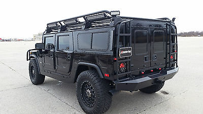 2002 Hummer H1 Base Sport Utility 4-Door 2002 Hummer H1 Wagon Black/Black 20K Add Ons! Must See! New Leather-Wheels-Tires